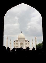 Taj Mahal, India (Parveen Singh) Tags: india white monument canon persian tomb taj mahal tajmahal tourists crown marble palaces emperor shah jahan mughal 550d