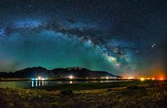 Milky Way - Mona Reservoir - Mount Nebo (PhotoOutpost (Rex Biggers)) Tags: milkyway nightsky nighttimephotography nightphotography nightscape mountnebo mona reservoir