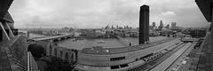 London Panorama (stugee) Tags: fuji fujifilm xe2 x e2 xe 2 samyang rokinon 12mm f20 london st pauls cathedral tate modern thames waterloo bridge monochrome black white noir bw bn sky water cloud