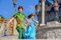 Dream Along With Mickey (disneylori) Tags: dreamalongwithmickey wendy peterpan disneycharacters facecharacters characters magickingdom waltdisneyworld disneyworld wdw disney