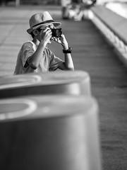 Young Sony boy (totofffff) Tags: cannes croisette france french riviera street alpes maritimes mditerrane noir blanc black white festival film olympus om d e 10 mark ii 2