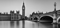 Gothic London Morning (On Holidays :o)) Tags: gothic london morning ride photo walk westminster bridge big ben palace houses clock nikon d800 1835mm lee neutral density soft graduated little stopper long exposure black white brilliant