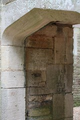 19th century graffiti (Carol Spurway) Tags: new nt northamptonshire elizabethan nationaltrust newbuild lyveden bield oundle