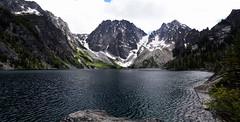 Colchuck Lake (bissmik5) Tags: glacier lake colchuck pnw washington trail