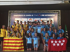 Campeonato España Triatlón por autonomías #Mequinenza 1