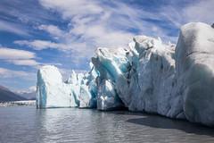 Phoenix rising (spwasilla) Tags: lake water glacier alaska blue ice clouds canon tamron2470mm