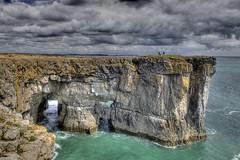 Down by the Seaside (pauldunn52) Tags: stackploe head pembrokeshire wales limestone headland caves arches blue