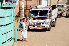 Local children in Benban town near Aswan / Egypt (anji) Tags: egypt misr masr middleeast northafrica maghreb arab arabworld aswan nile