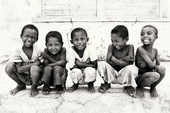 Madagascar, young boys (Dietmar Temps) Tags: africa afrika afrique madagascar tribes ethnic ethnology ethnie culture tradition traditional ritual people faces kids children boys remotevillage outdoor fishingvillage morondava tulear vezo belosurmer fun smile school primaryschool students