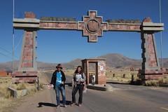 Tiwanaku - La Paz (Xaime Churata) Tags: tiwanaku lapaz monolitos arqueologa elalto caminata