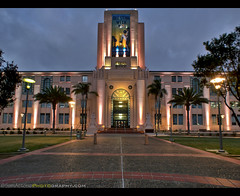 San Diego County Administration Building (Sam Antonio Photography) Tags: sandiego architecture night california building city samantoniophotography