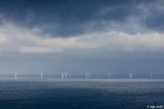 New Forests? / Neue Wlder? (Steffen Schobel) Tags: sea seascape clouds landscape meer power offshore energie wolken landschaft llandudno windfarm sustainable windkraftanlage windturbines windgenerator greenpower nachhaltig kostrom
