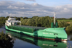'Arklow Vale' Hollins Green 5th August 2016 (John Eyres) Tags: arklow vale taken lengthening shadows hollins green approach warburton bridge 050816 manchestershipcanal
