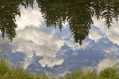Reflected clouds - Schwabacher's Landing 2 (nicoangleys) Tags: tetons grandtetonsnp nationalpark wyoming jacksonhole schwabacherslanding