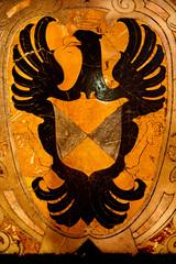 """I am not a Maltese Falcon."" (hogsvilleBrit) Tags: malta eagle bird marble tomb valletta inlaid shield symmetry crown coatofarms heraldry cross 6ws sixwordstory"
