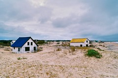 Barra de Valizas (Andrs Bentancourt) Tags: uruguay uruguai southamerica rocha valizas outdoors nature sea coast sand arena playa beach winter praia areia coastal costa mar house houses dunas dunes duna