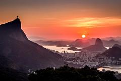 Mirante da Vista Chinesa - Rio de Janeiro (mariohowat) Tags: corcovado podeaucar morrodopodeaucar sunrise amanhecer nascerdosol rio2016 riodejaneiro natureza vistachinesa mirantesdoriodejaneiro mirantedavistachinesa brasil brazil