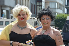Gay Pride Antwerpen 2016 (O. Herreman) Tags: antwerpen belgie belgium gaypride pride homo biseksueel lesbisch europride feest straatfeest outdoor stad party mensen travestie toeristen schelde city friends people homoemancipatie dragqueen europe centrum centre center parade lgbt freedom liberty rights droits gay civilrights festa fte coc pridematters lovewins crowd happy vehicle travestiet transsexueel transvestite transsexual transgender gaycouple antwerp anvers holebi
