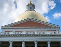 Boston, Black Heritage Trail (alh1) Tags: blackheritagetrail boston massachusetts usa tour massachusettsstatehouse gilded