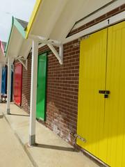 UK - Dorset - Swanage - Beach huts (JulesFoto) Tags: uk england dorset clog centrallondonoutdoorgroup swanage isleofpurbeck beachhuts