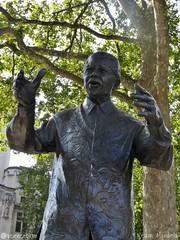 Nelson Mandela (sciencebase) Tags: london siteseeing summer city