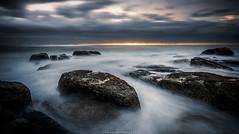Sunset storm (aumegaphotography) Tags: landscape landscapephotography longexposure longexpo ocean sea storm stormclouds clouds nikon capetown southafrica
