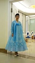 Waitress (Frhtau) Tags: dprk north korea korean people leute scene daily life asia asian east nordkorea scenery   choxin  outdoor      core du nord coreia do coria    culture waitress girl woman hotel room hall