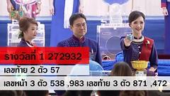 ตรวจสลากกินแบ่งรัฐบาล ตรวจหวย 1 สิงหาคม 2559 [ Full ] Lotterythai HD - YouTube