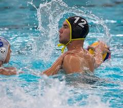 28190425 (roel.ubels) Tags: jong oranje nederland holland duitsland deutschland sport topsport waterpolo 2016 oefenwedstrijd alphen aan de rijn aquarijn