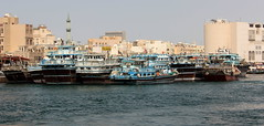Dubai Creek Dhows (ST33VO) Tags: dubai creek dhow waterway unitedarabemirates uae city