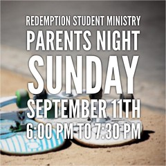 Parents, we would love for you to join us Sunday night on September 11th from 6:00-7:30 pm at RSM! We would love to give you an inside look at RSM Gatherings + Groups, get to know you, share details about our fall retreat, and answer any questions you may (rcokc) Tags: parents we would love for you join us sunday night september 11th from 600730 pm rsm give an inside look gatherings groups get know share details about our fall retreat answer any questions may have it will be lot fun very informative if student dont want miss this hope see all there redemptionokccomblog redemptionstudents edmond oklahoma