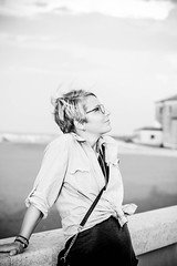 IMG_0051 (MartinVlcek) Tags: women glasses beach short hair caorle