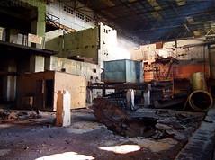 the fifth reactor. (Little Blind Chicken) Tags: green priryat chernobyl ukraine kiev autumn     radioactive radioactivity abandoned disaster accident apocalyple reactor atomic apocalypse apocalyptic