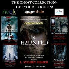 The Ghost Collection Poster (LSydneyFisher) Tags: booksale bestseller ghoststory truehauntings paranormal ghost supernatural