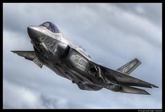F35A (2016) (Ismael Jorda) Tags: f35 stealth fighter usaf military riat16 aviation