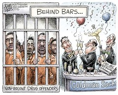 Goldman Sachs settlement (palaciossantiago) Tags: goldmansachs settlement 5billion behindbars jail prison financial crime nonviolent drug sentencing conviction offenders fraud investment banks recession economy