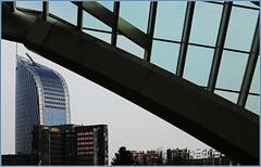 """La Tour """"Paradis ou Tour des Finances, de la gare des Guillemins, Lige, Belgium (claude lina) Tags: building architecture belgium belgique lige wallonie provincedelige tourdesfinanceslige garedesguilleminslige tourparadis"""