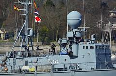 S72 PUMA (The Salaried Tourist) Tags: germany clyde military navy german warship gareloch germannavy s72 jointwarrior p6122 clydesubmarinebase nikond7100 tamron150600 s72puma