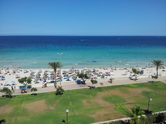 Cala Millor, Mallorca, Espaa (PriscilaValdelviraSalvador) Tags: sea tourism beach nature playa arena urbano mallorca turismo mediterraneansea urbanismo vegetacin marmediterrneo islasbaleares infraestructura hidrologa geografaubana