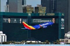 Southwest Airlines - N559WN (Aviacaobrasil) Tags: lasvegas southwestairlines boeing737700 mccarraninternationalairport alexandrebarros