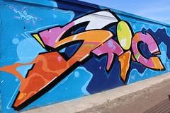 5a-Lilienstrae, STIC (julia_HalleFotoFan) Tags: streetart graffiti stick halleneustadt hallesaale sachsenanhalt wandgestaltung stickone iwscrew legalewandgestaltung