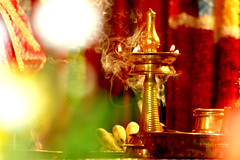 Nilavilakku (...Niram) Tags: lighting lamp pooja kuthuvilakku