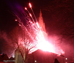 Fireworks 4 (ChristineGibbs, trying to keep up!) Tags: light night canon eos lights king cathedral fireworks smoke leicester celebration nighttime richard explosions richardiii kingrichardiii riii eos7 reburial leicestercathedral canon1855usm cathedralfireworks kingrichardiiireburial kingrichardiiireburialfireworks