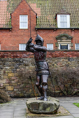 Sir Henry Percy (20 May 1364  21 July 1403) (Norms360) Tags: statue nikon alnwick northumberland knight nobleman hotspur harryhotspur sirhenrypercy d5200 nikond5200