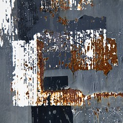 Bien sous tous rapports (Gerard Hermand) Tags: 1503112669 peinture gerardhermand france paris eos5dmarkii abstract abstraction abstrait metal mur paint rouille rust wall canon