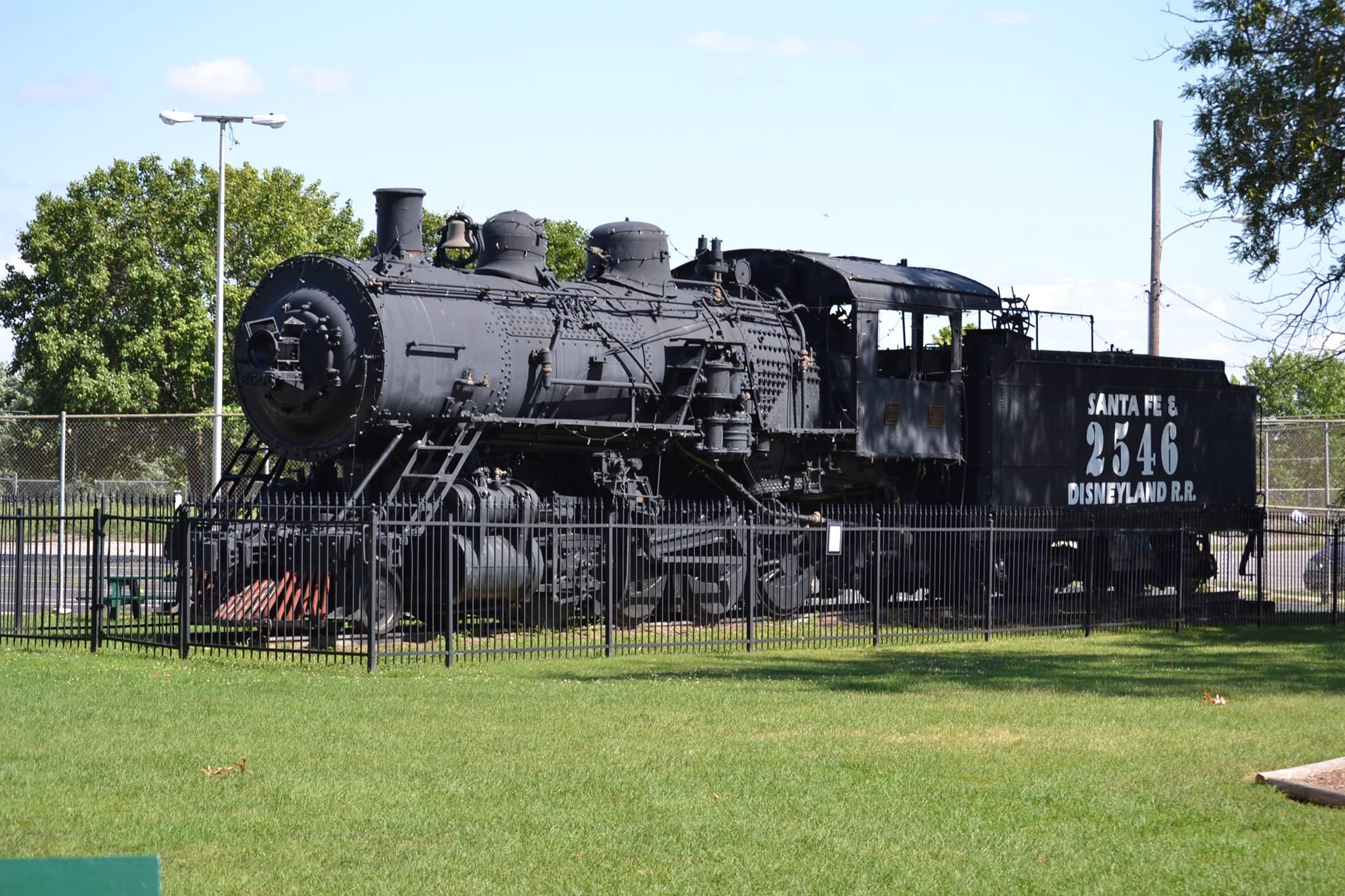 Santa Fe 2546 in Marceline, MO
