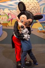 Noah Hugging Mickie (amromousa) Tags: noah disney mickie