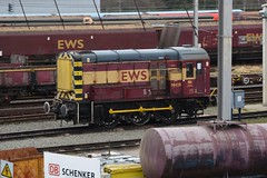 "English Welsh & Scottish Railways Class 08, 08428 (37190 ""Dalzell"") Tags: warrington rods ee revised shunter englishelectric ews gronk class08 08428 maroongold dbschenker englishwelshscottishrailway arpleyyard d3543"