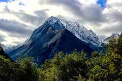 Mighty Mountain (Thomas Rotte) Tags: park trees mountain snow car clouds national sound fjord milford mighty chasm fiordland the