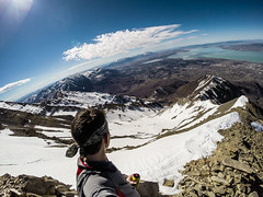 Refueling at 11,430 ft. (kf7mgt) Tags: mountain snow mountains landscape rockies utah rockstar valley hero rockymountains utahlake mountainrange snowpack utahvalley utahlandscapes beahero gopro hero3black